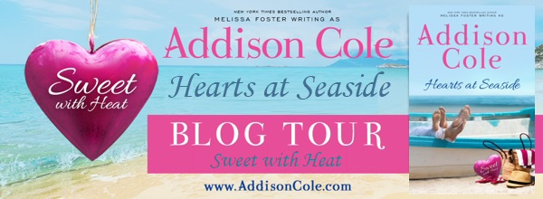 [Review Tour] Hearts at Seaside (Sweet with Heat: Seaside Summers) by Addison Cole