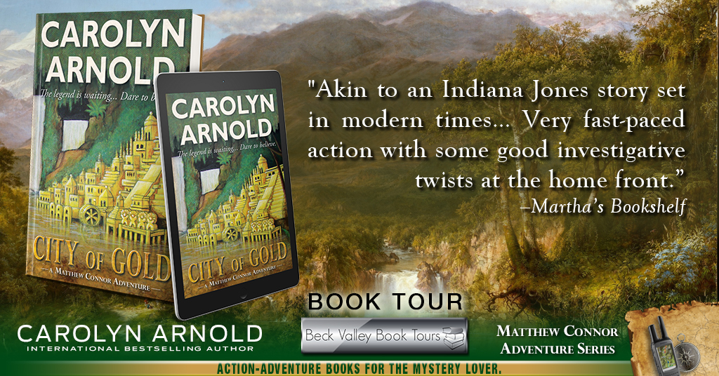 [Review] City of Gold by Carolyn Arnold