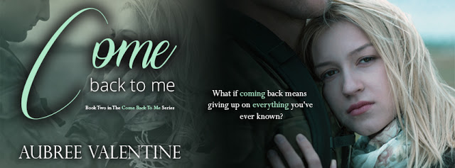 [Release] Come Back to Me by Aubree Valentine